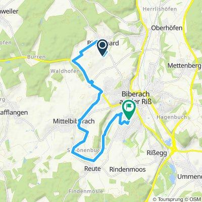 HEIMWEG  14,8km