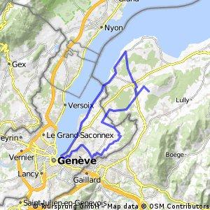 Around Chablais and Geneva