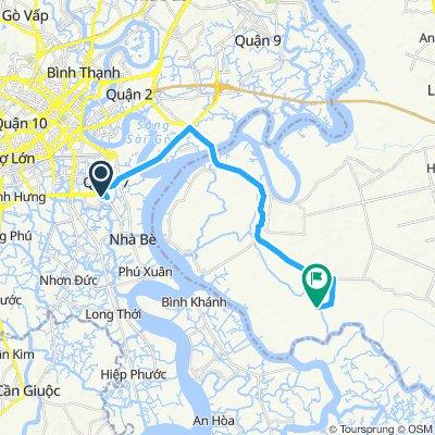 SaigonBikes.Org - Road to Bo Cap Vang