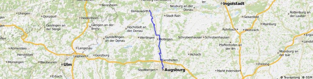 D-V15-01 Donauwoerth-Augsburg