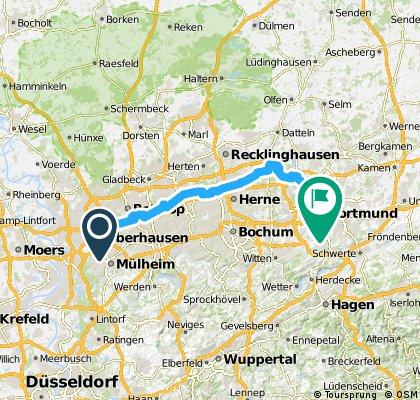 Rhein-Herne Kanal Radtour