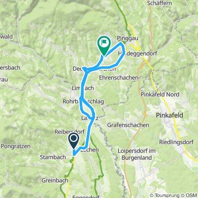 Grafendorf - Friedberg - Grafendorf, 19. August 2015