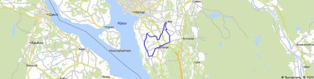 NC Gylne Gutuer 14.05.2015 - 28,49 km