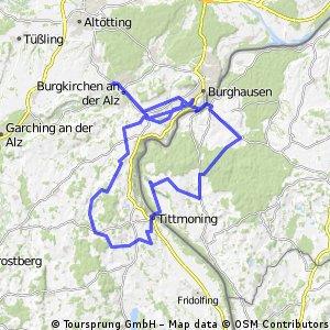 Rund um Burghausen