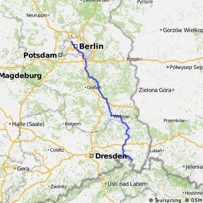 Von der Spreequlle bis Berlin