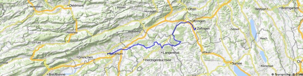 Lite Tour: Solothurn-> Zofingen