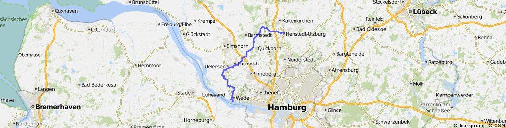 Auf dem Ochsenweg von Ulzburg nach Schulau