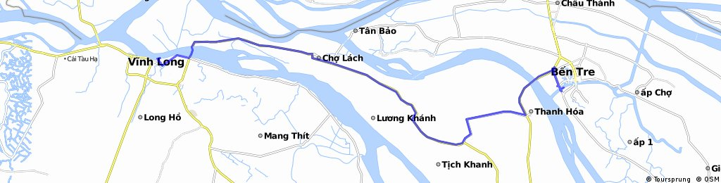 Ben Tre to Vinh Long