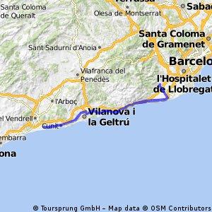Viladecans - Calafell - Viladecans