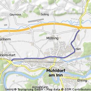 Mühldorf Nord-Radrennstrecke