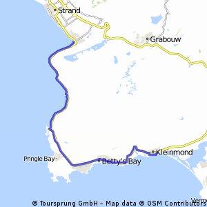 RGR A+B Kleinmond-Gordons Bay
