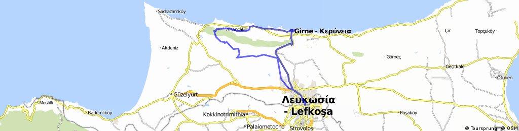 Epic Kyrenia Mountain Range Tour from Nicosia via Lapta to Kyrenia