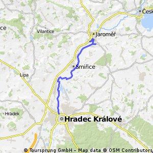 Cyklostezka Hradec Králové - Josefov - Jaroměř