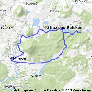 Cyklotrasa okolo Ralska, Českolipsko
