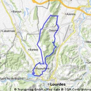 Boucle Ossun - Ossun par le lac de Lourdes - 2832 - UtagawaVTT.com