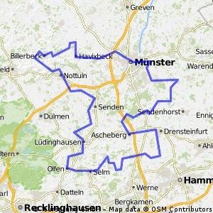 100 Schlösser Route Münsterland Südkurs