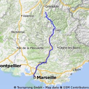 Grenoble-Sisteron-Marseille