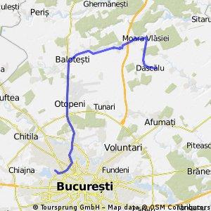 Crangasi-Balotesti-Moara Vlasiei-Dascalu