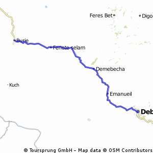Reise 6 Etappe 4 Debre Markos - Burie