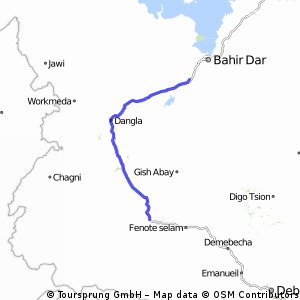 Reise 6 Etappe 5 Burie - Meshenti