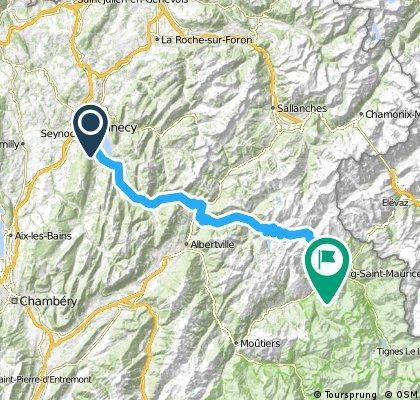 Francia Alpok 02 vándor