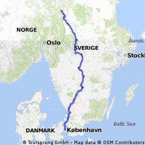 Kopenhagen-Trysil (E8-17)