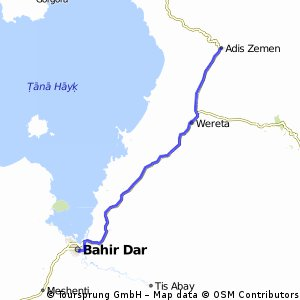 Reise 6 Etappe 7 Bahir Dar-Adis Zemen