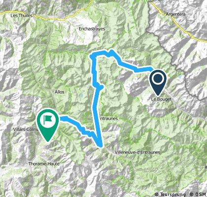 Francia Alpok hatodik nap vándor