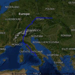 Praga - Neapol