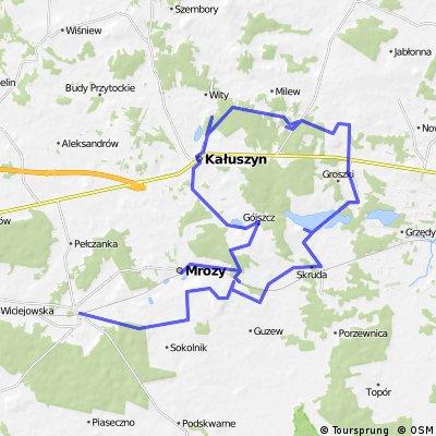 Mrozy-Kałuszyn-Sinołęka-Rudka-Cegłów