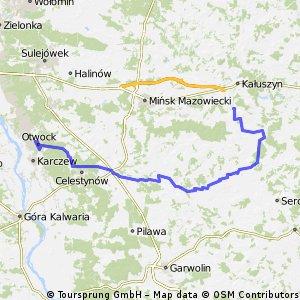 Mrozy-Jeruzal-Kołbiel-Otwock