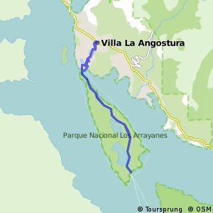 Recorrida MTB Villa La Angostura/Península de Quetrihué/Bosque de Arrayanes