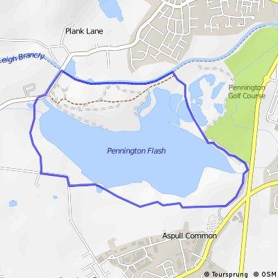 Pennington Flash, Wigan