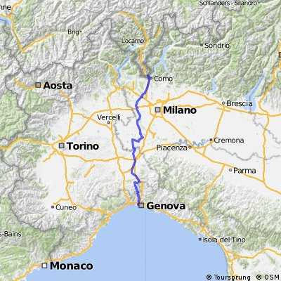 Chiasso(CH)-Genova(IT)