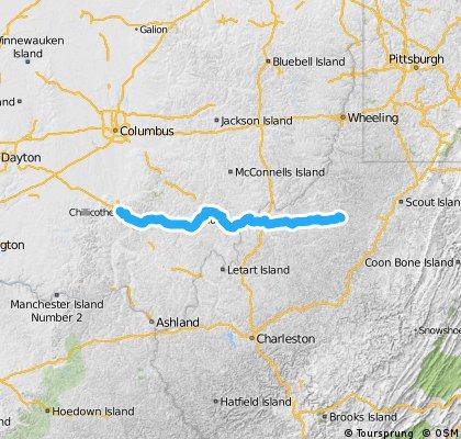 Etappe 17 Chillicothe - West Union
