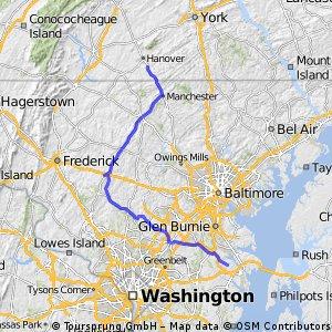 Etappe 20 Hanover - Annapolis
