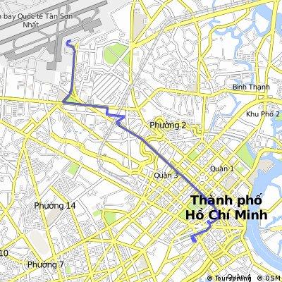 J001 - vendredi 09 janvier 2015 - Aéroport de Ho CChi Minh Ville- Hotel Ho Chi Minh Ville