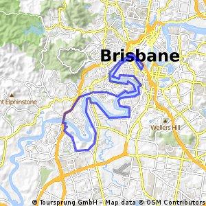 Brisbane River Run (Medium)