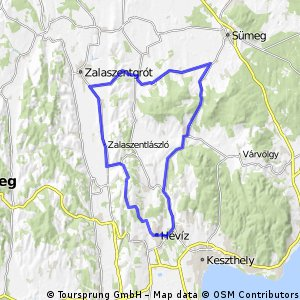 Tour de Hévíz - CST 60km