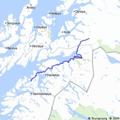 Norwegen #1.5 Fossbakken - Ulfsvag