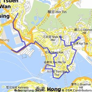 KLN Tong -> Cargo Pier #8 -> Kwai Fong