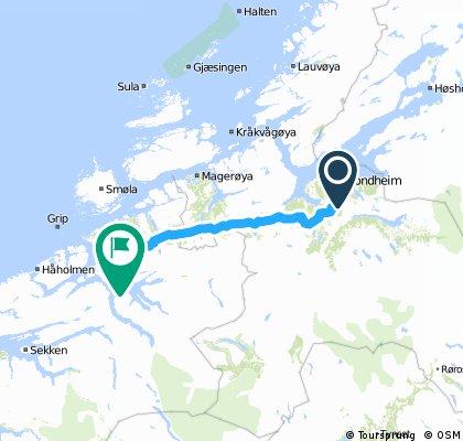 Norwegen #1.11 Trondheim - Halsa