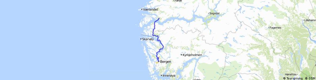 Norwegen #1-15  Leirvik - Bergen