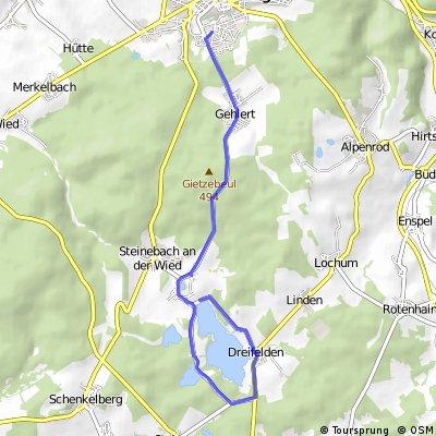Hachenburg - Dreifelder Weiher und zurück