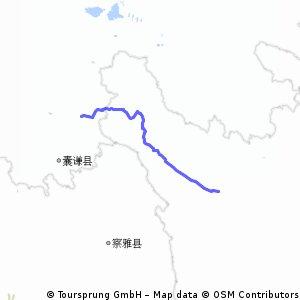yushu to  ganzi (i think that's the correct reading) zhen