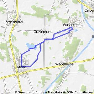 1. Radlertreff - Tour 19.05.2011 Meiner Teiche