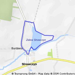 Elemental Tri Series Strawczyn - pętla biegowa 2,5 km