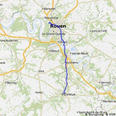 Day 7: Évreux to Rouen