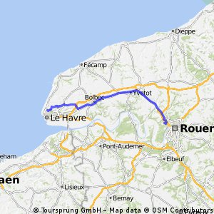 Day 8: from Rouen to Le Havre