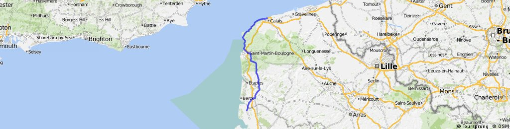 Day 11: From Quend to Calais